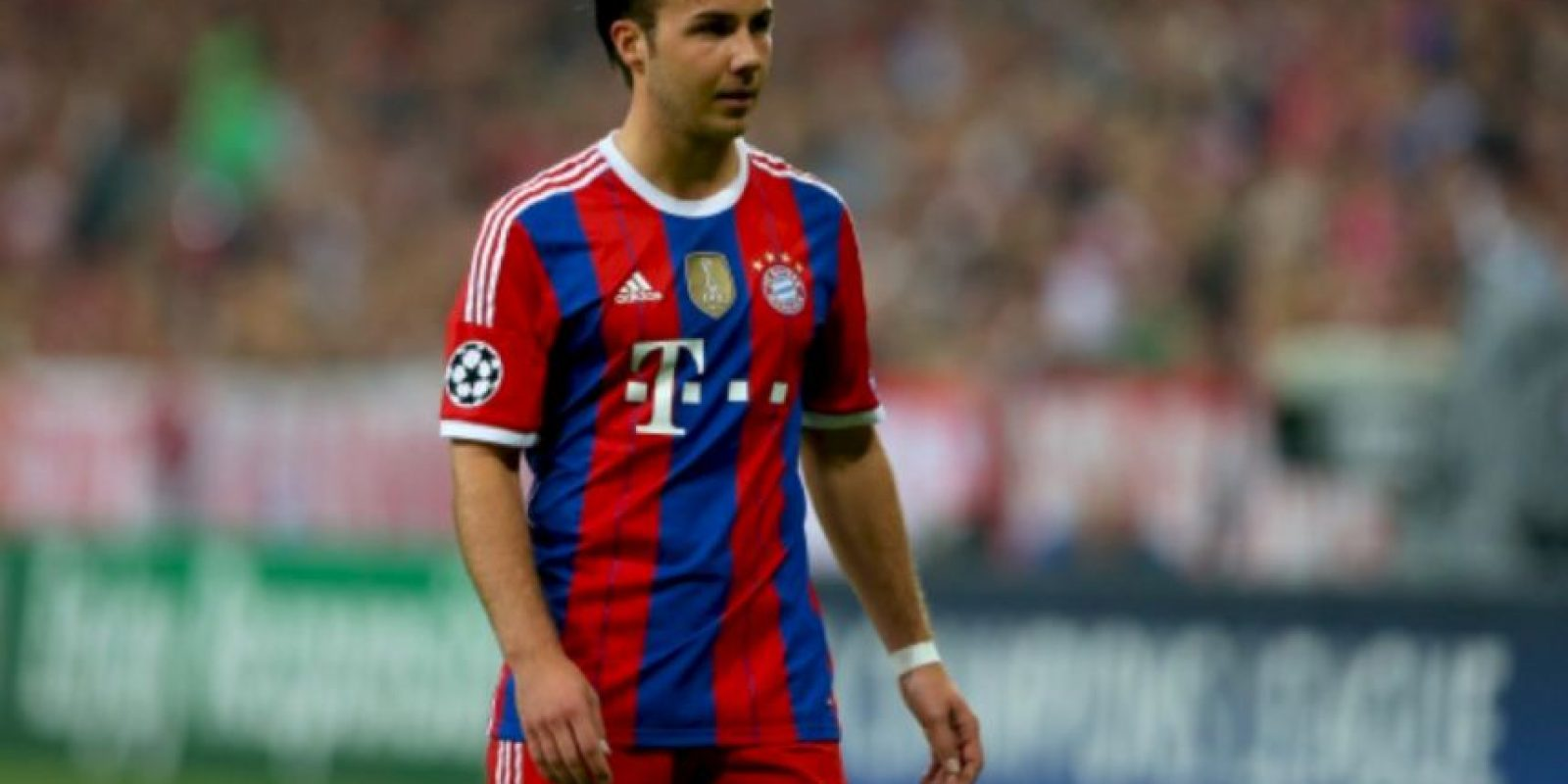 Mario Götze (Alemania) en la vida real Foto: Getty Images