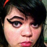 23. Se pasó un poco Foto:Tumblr/Tagged/Fail/Eyeliner