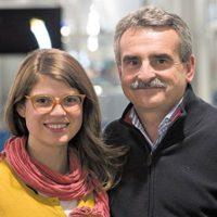 Es hija de Agustín Rossi, ministro de Defensa del país Foto:Twitter.com/rossi_delfina