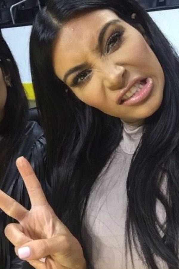 """""""No nos importa nada de lo que haga Kim Kardashian. Ahora pueden ocuparse de problemas reales en el mundo con nuestra aplicación"""", afirma la página web. Foto:vía instagram.com/kimkardashian"""