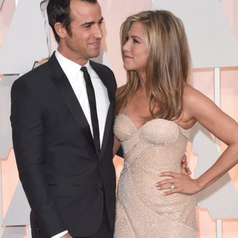 En 2012, Jennifer Aniston y Justin Theroux se comprometieron y ahora, tres años después, la pareja finalmente dio el sí en el altar. Foto:Getty Images