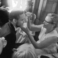 Luego de perder una apuesta con Tomlinson, Liam Payne se pintó la cara como un tigre. Foto:vía twitter.com/believeinmagicx