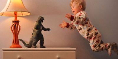 """Wil Lawrence es un niño con Síndrome de Down, que puede """"volar"""". Foto: thatdadblog.com"""