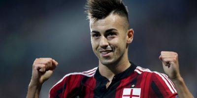"""El delantero italiano siempre ha llevado su cabello al estilo """"mohicano"""". Foto:Getty Images"""