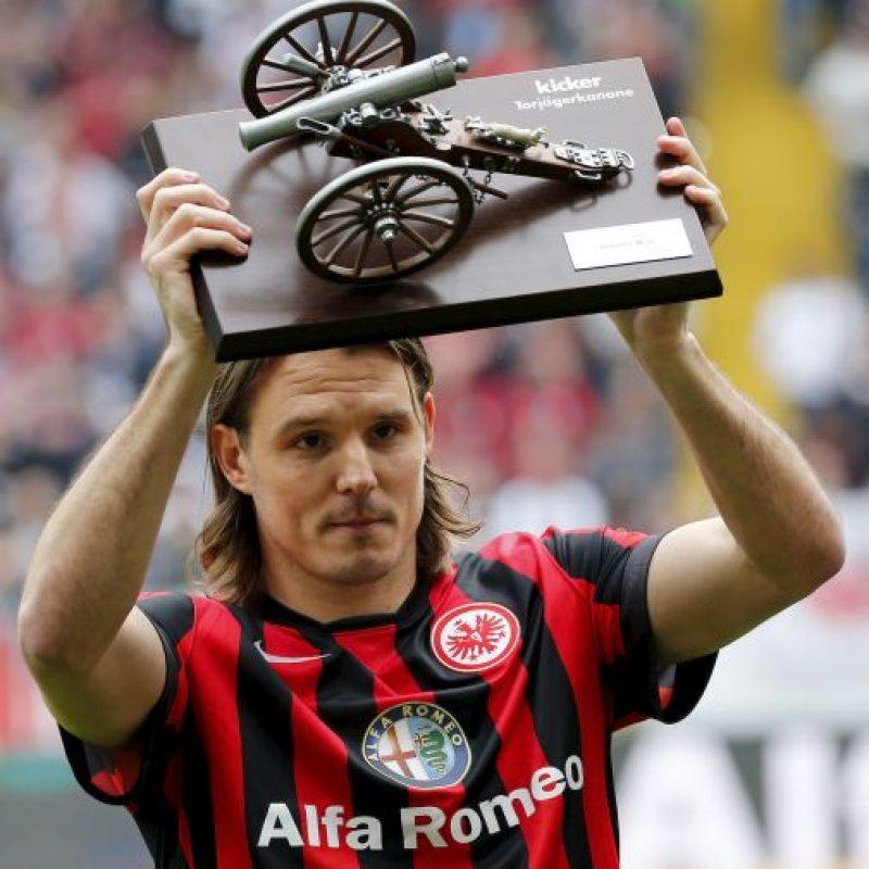 3. Alexander Meier (Eintracht Frankfurt/Alemania) Foto:Getty Images