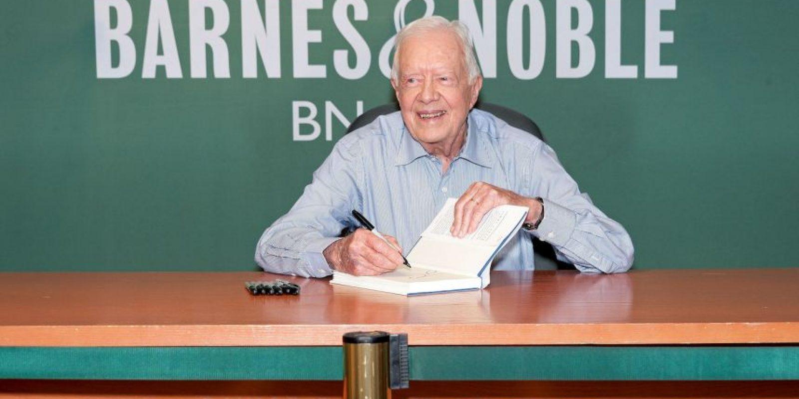 Jimmy Carter fue el presidente número 39 de Estados Unidos. Foto:Getty Images