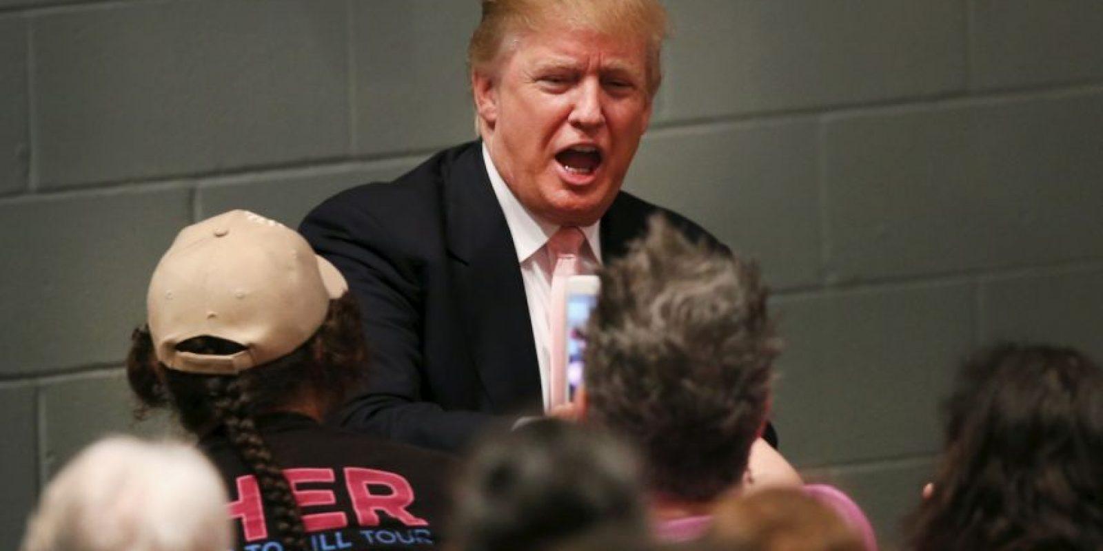 Durante el primer debate de precandidatos del Partido Republicano aseguró que la discusión sobre inmigración se da gracias a él. Foto:Getty Images