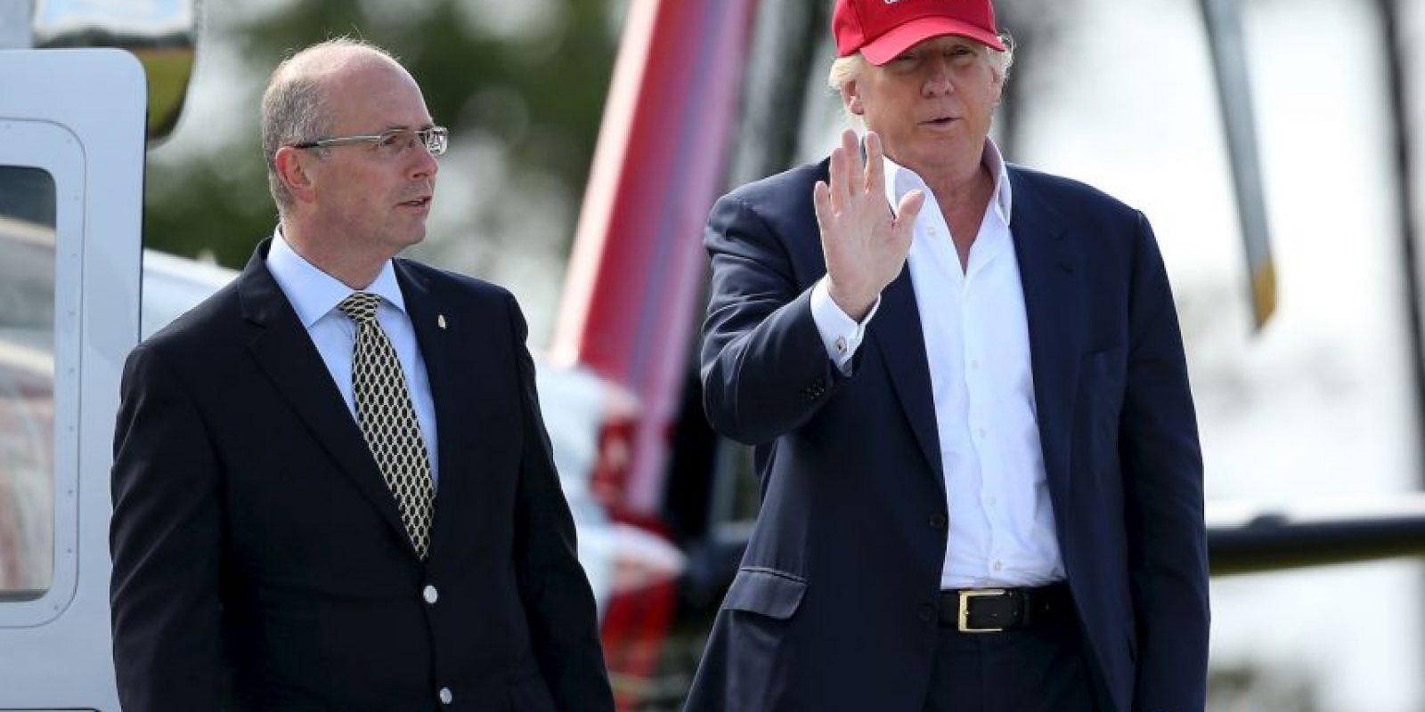 De acuerdo a la más reciente encuesta de CNN, Trump continúa en primer lugar Foto:Getty Images