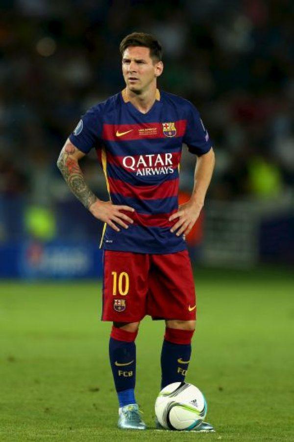 Es el símbolo del Barcelona Foto:Getty Images