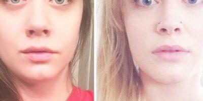 Las dos mujeres lucían casi idénticas. Foto:vía Imgur