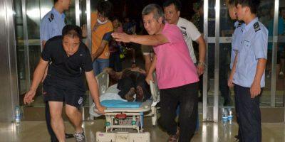 Al menos 700 personas resultaron heridas. Foto:AFP