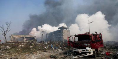 Los bomberos detallaron que la explosión sucedió a las 23:30 horas (tiempo local). Foto:AP