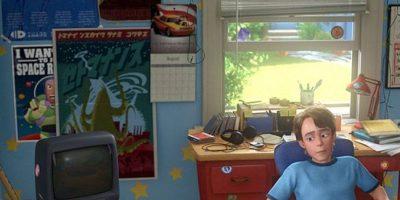 """En """"Toy Story 3"""" aparece un calendario de """"El Rayo McQueen"""" en la pared de """"Andy""""."""
