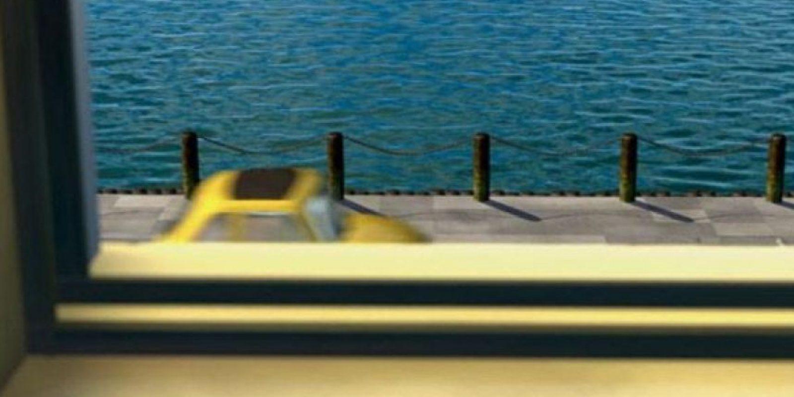 """Y en """"Buscando a Nemo"""" aparece uno de los autos de """"Cars"""" Foto:Pixar"""