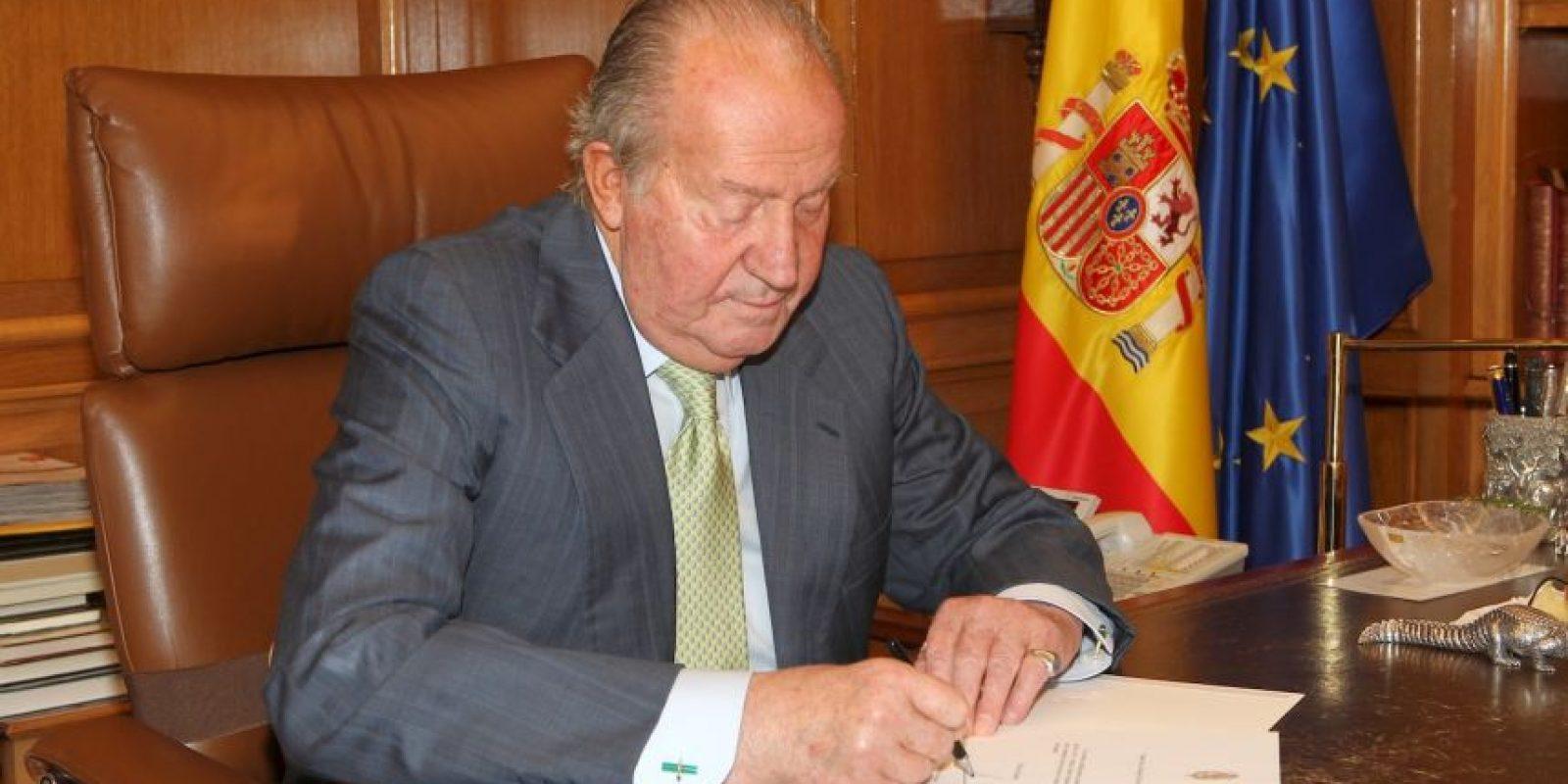 Rey Juan Carlos I de España, quien estuvo en el poder desde 1975 hasta su abdicación en 2014 Foto:Getty Images