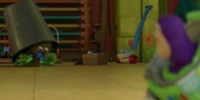 """En """"Toy Story 3"""", """"Buzz Lightyear"""" se encuentra con """"Flik"""" de """"Bichos"""" Foto:Pixar"""