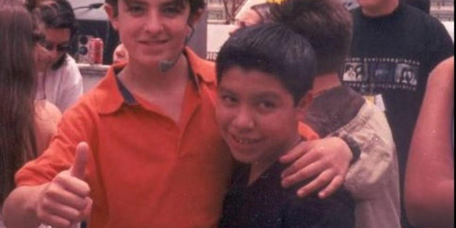 """Interpretó a """"Juan"""", el pequeño al que apodaban """"El 7 Leguas"""" Foto:facebook.com/Oscar-Larios"""