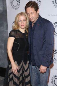 """En marzo, Fox confirmó que acordó la grabación de seis nuevos episodios de la serie """"X Files"""" con la participación de David Duchovny y Gillian Anderson, protagonistas de esta serie desde 1993 hasta 2002. Foto:Getty Images"""