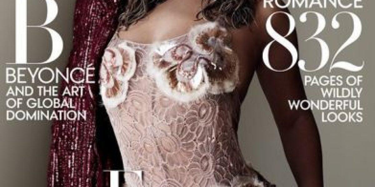 Beyoncé derrocha sensualidad en la portada
