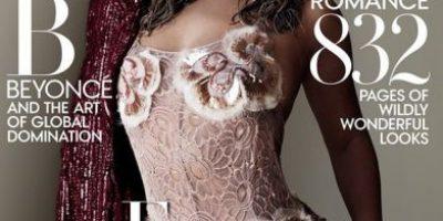 """Beyoncé derrocha sensualidad en la portada """"Vogue"""" de septiembre"""