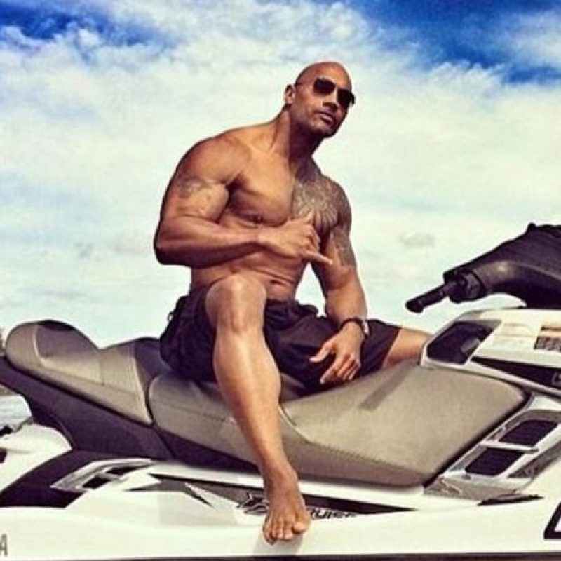 """Dwayne Johnson """"La Roca"""". Foto:vía instagram.com/therock"""