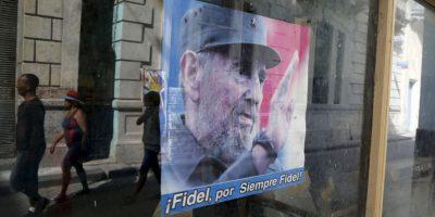 A sus 89 años, Castro asegura que Estados Unidos tiene una gran deuda con Cuba debido al embargo comercial que le impuso. Foto:AP