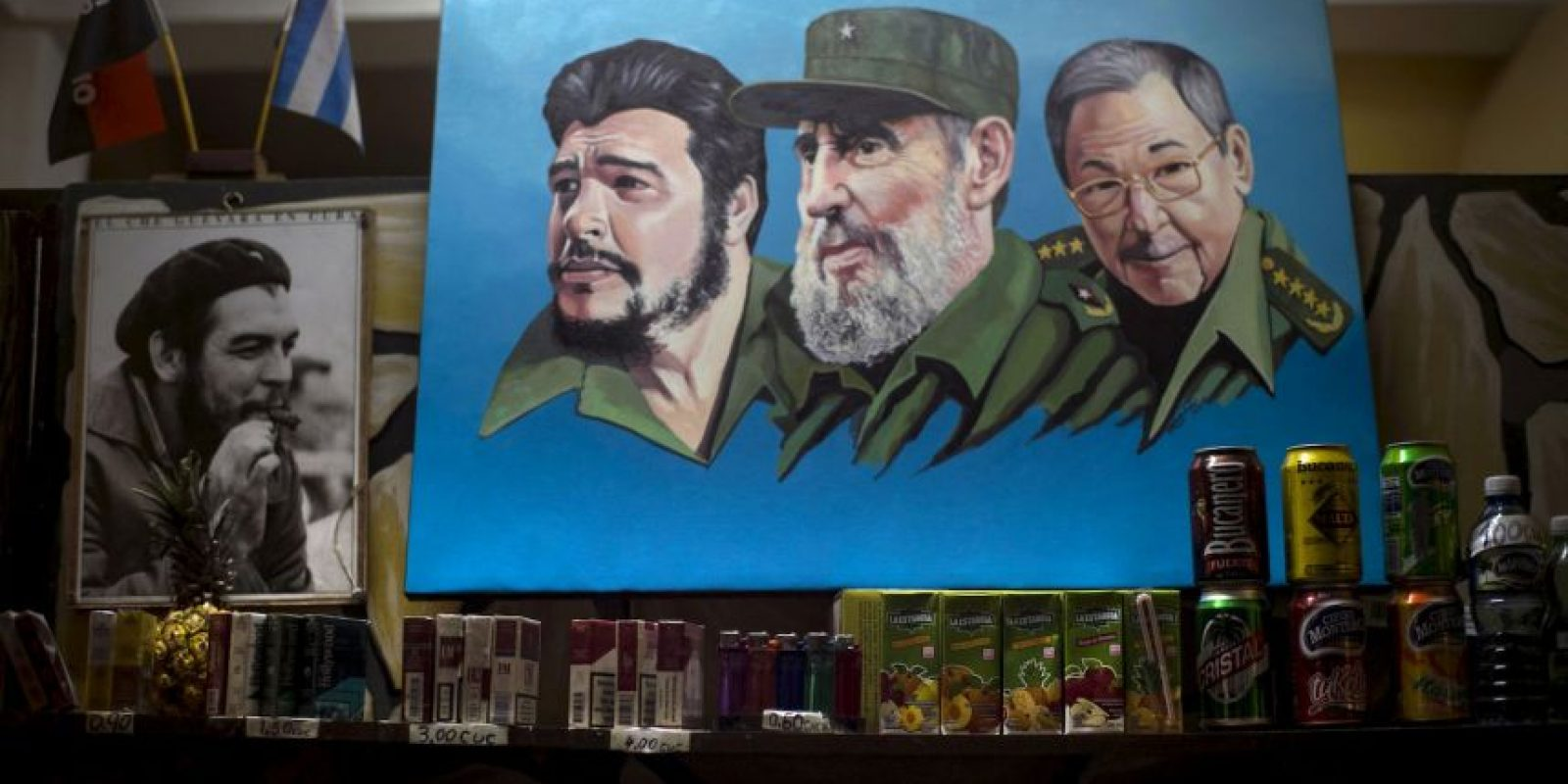 """El expresidente cubano pidió seguir luchando por """"sueños de justicia e igualdad"""". Foto:AP"""