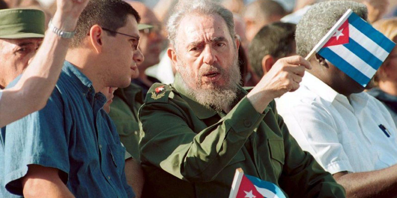 """Mediante su texto titulado """"La realidad y los sueños"""", Fidel Castro se quejó de Estados Unidos. Foto:Getty Images"""