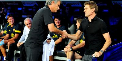 Agredió a Tito Vilanova durante un partido de Supercopa de España. Foto:Getty Images