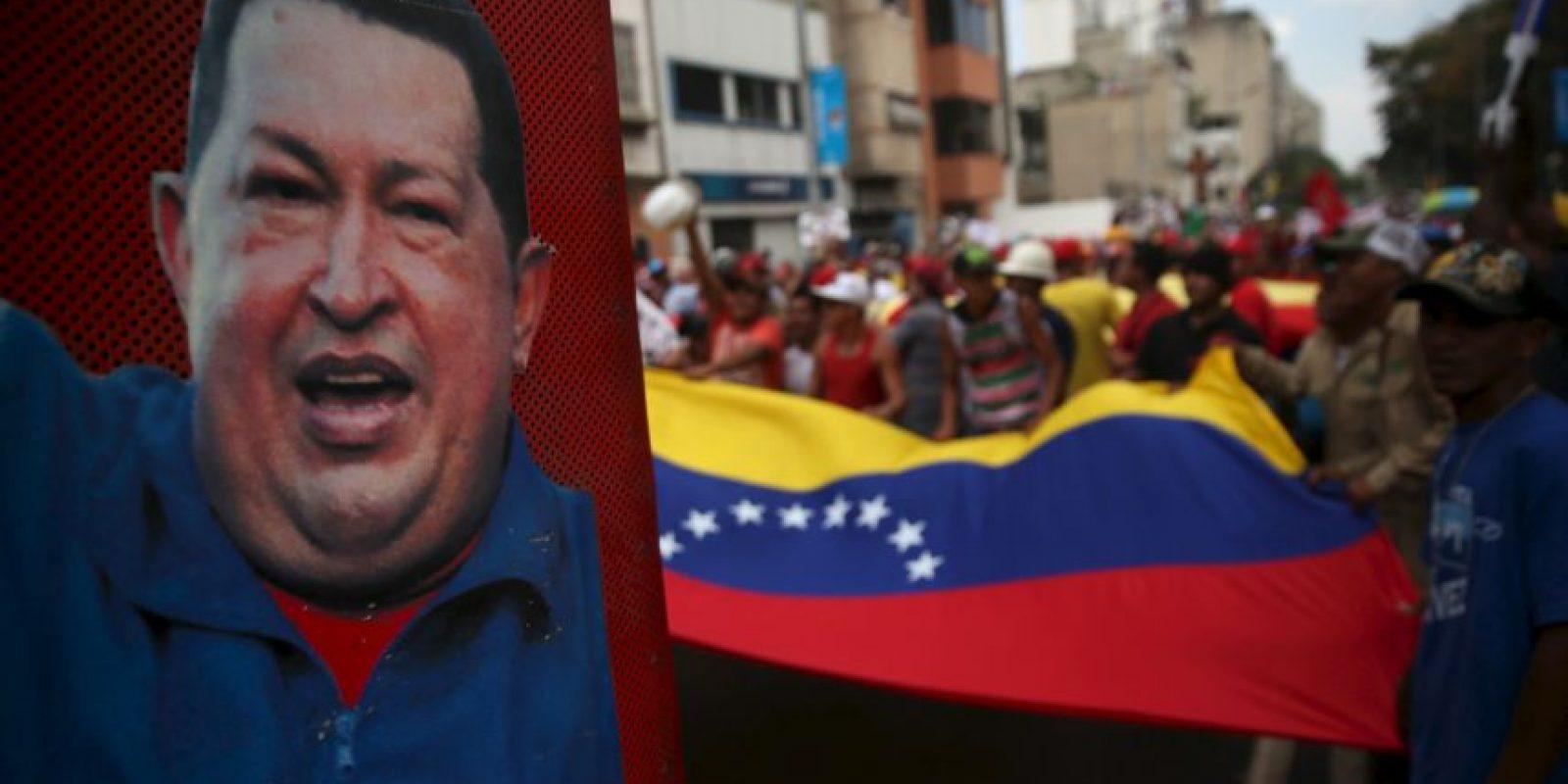 María Gabriela Chávez es la segunda de los cinco hijos conocidos del expresidente. Foto:Getty Images