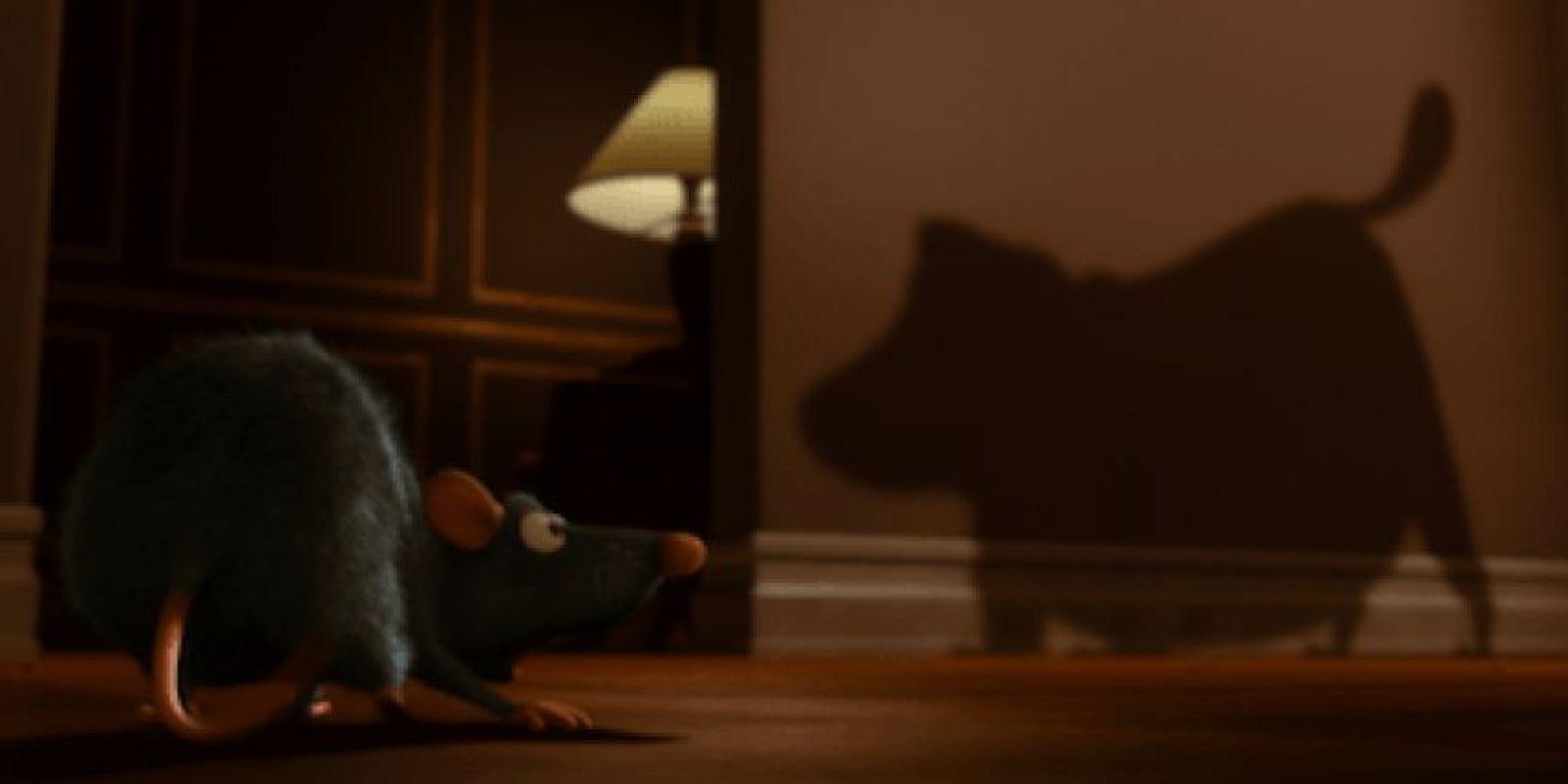 """El perro """"Dug"""" de """"Up"""" aparece en la cinta """"Ratatouille"""" Foto:Pixar"""