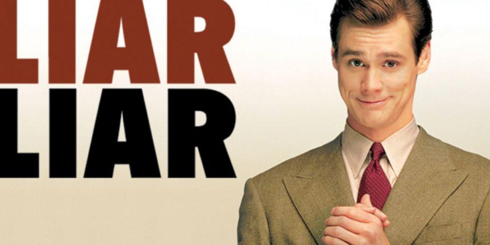 """Mentiroso, mentiroso"" se estrenó en 1997. Foto:vía Universal Pictures"