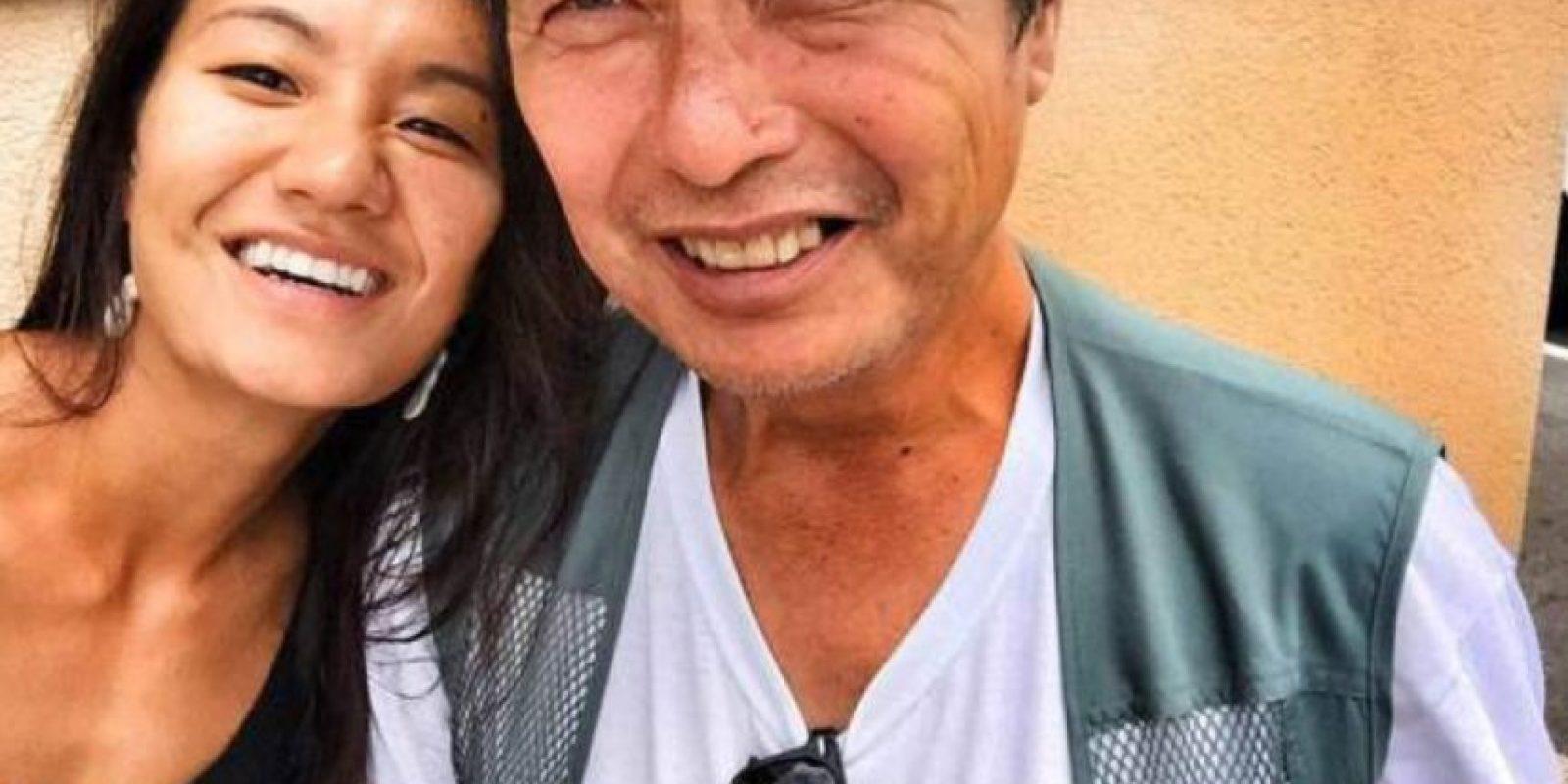 Diana Kim halló a su padre de la manera más inesperada. Foto:vía Diana Kim