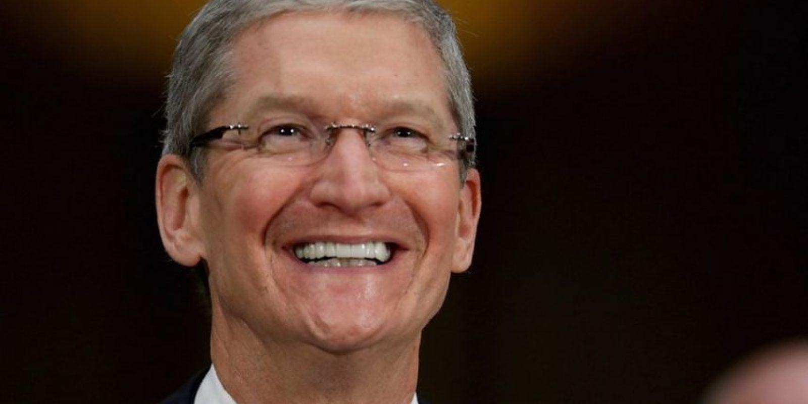 En agosto de 2011 tomó el poder de la mesa ejecutiva de Apple Foto:Getty Images