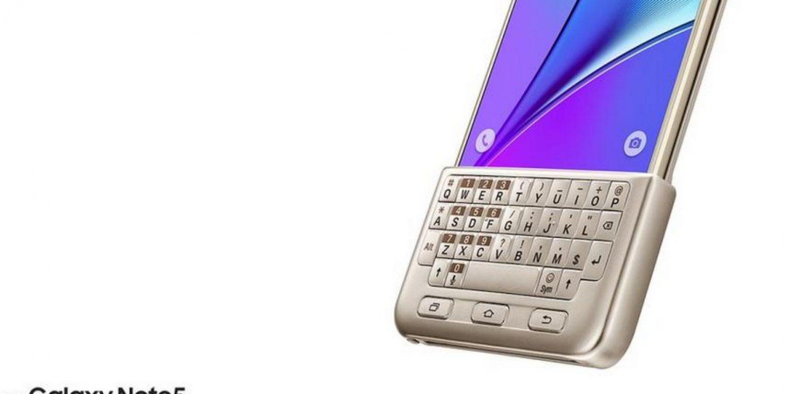 Teclado ajustable que funciona para todas las funciones del software Android Lollipop Foto:Samsung