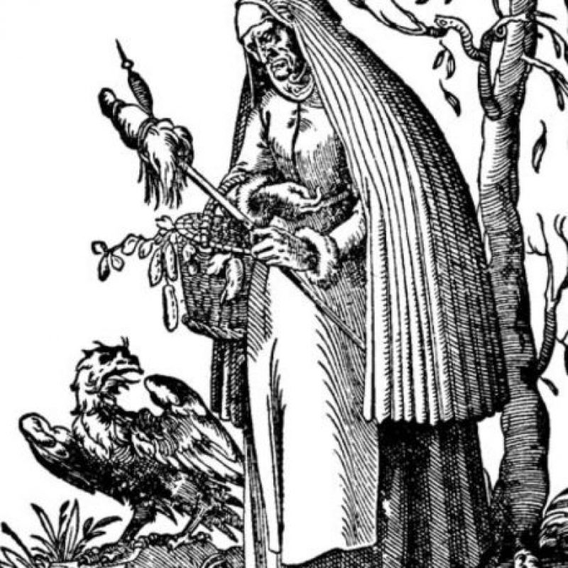 La bruja redimida cuenta que le salieron hasta sapos cuando un sacerdote la exorcizó. Foto:vía Wikipedia