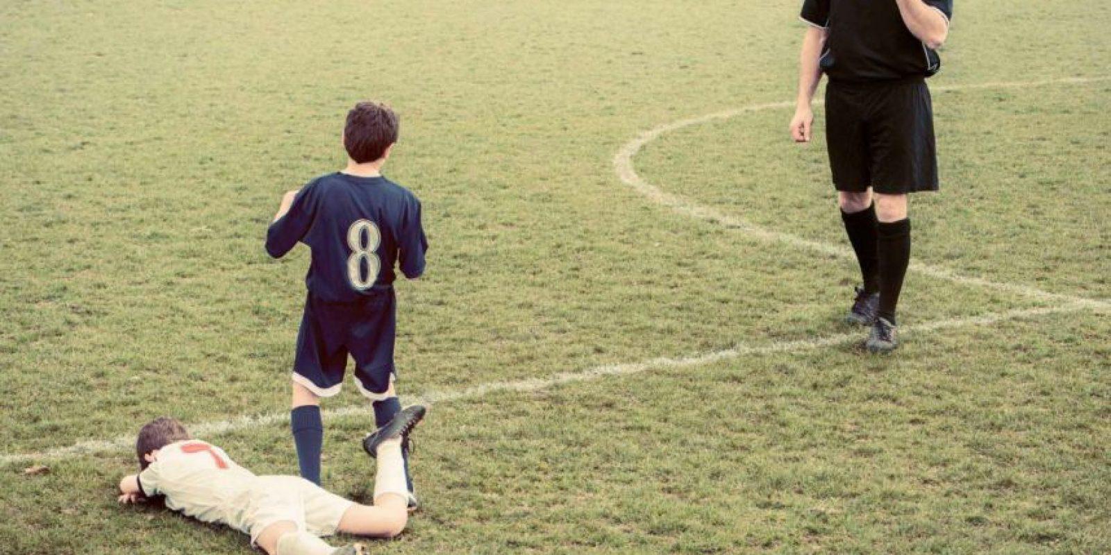 7. La mítica expulsión de David Beckham. Foto:georgelogan.co.uk