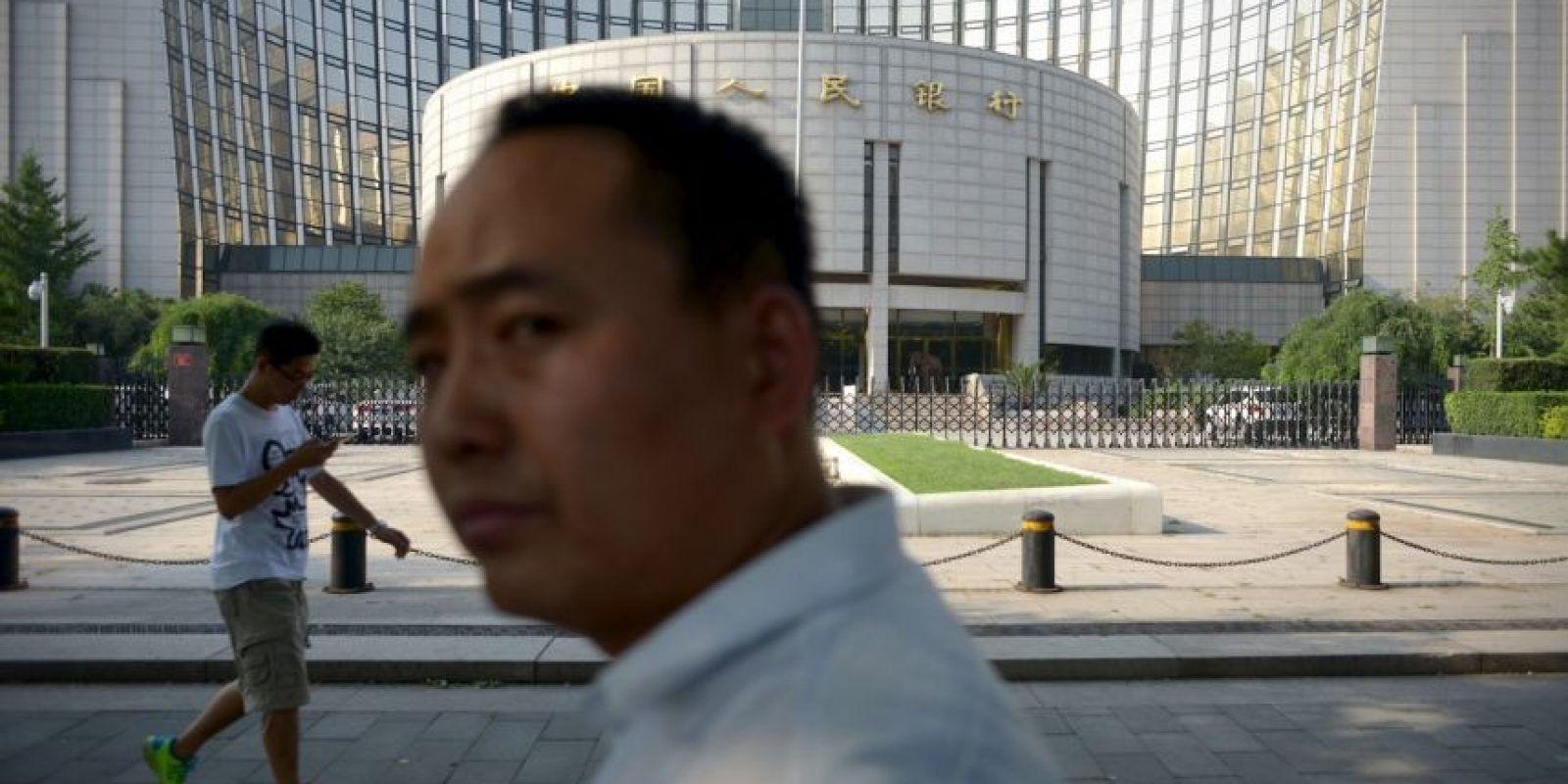"""Esto informaron las autoridades del país asiático: """"Se trata de una corrección técnica y no es indicador de futuras posibles devaluaciones"""". Foto:AFP"""