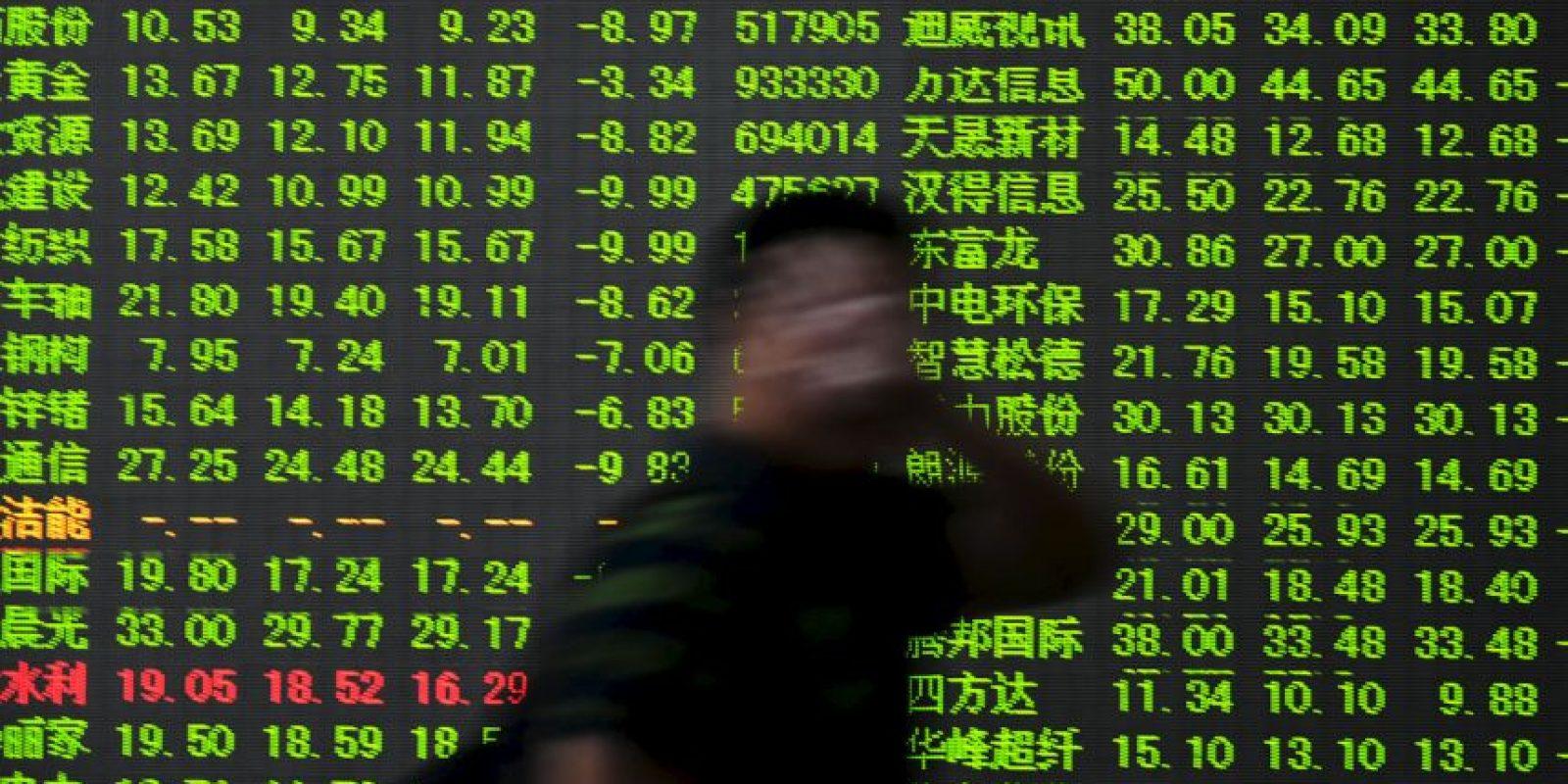 """Los analistas estiman que con el yuan en estos niveles (cerca de 3.5% en menos de una semana) es posible que se desate una guerra de divisas si otros países buscan protegerse, informa el periódico """"El Financiero"""". Foto:AFP"""