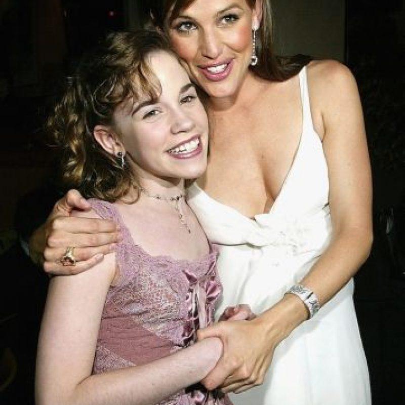 La actriz debía lucir como la versión joven de Jennifer Garner Foto:Getty Images