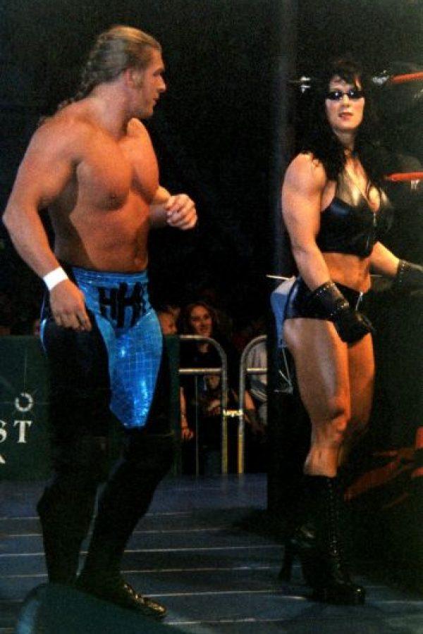 También formó parte de Total Nonstop Action Wrestling. Foto:Vía facebook.com/ChynaJoanLaurer
