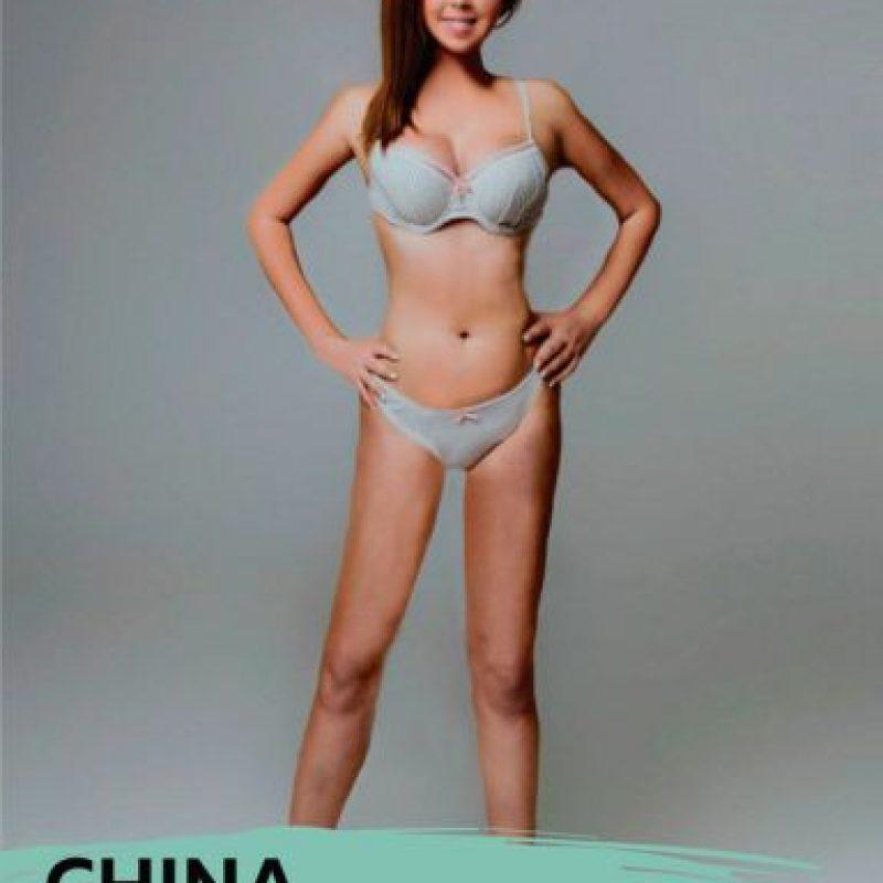 Las más delgadas fueron chinas e italianas. Foto:vía onlinedoctor/superdrug.com