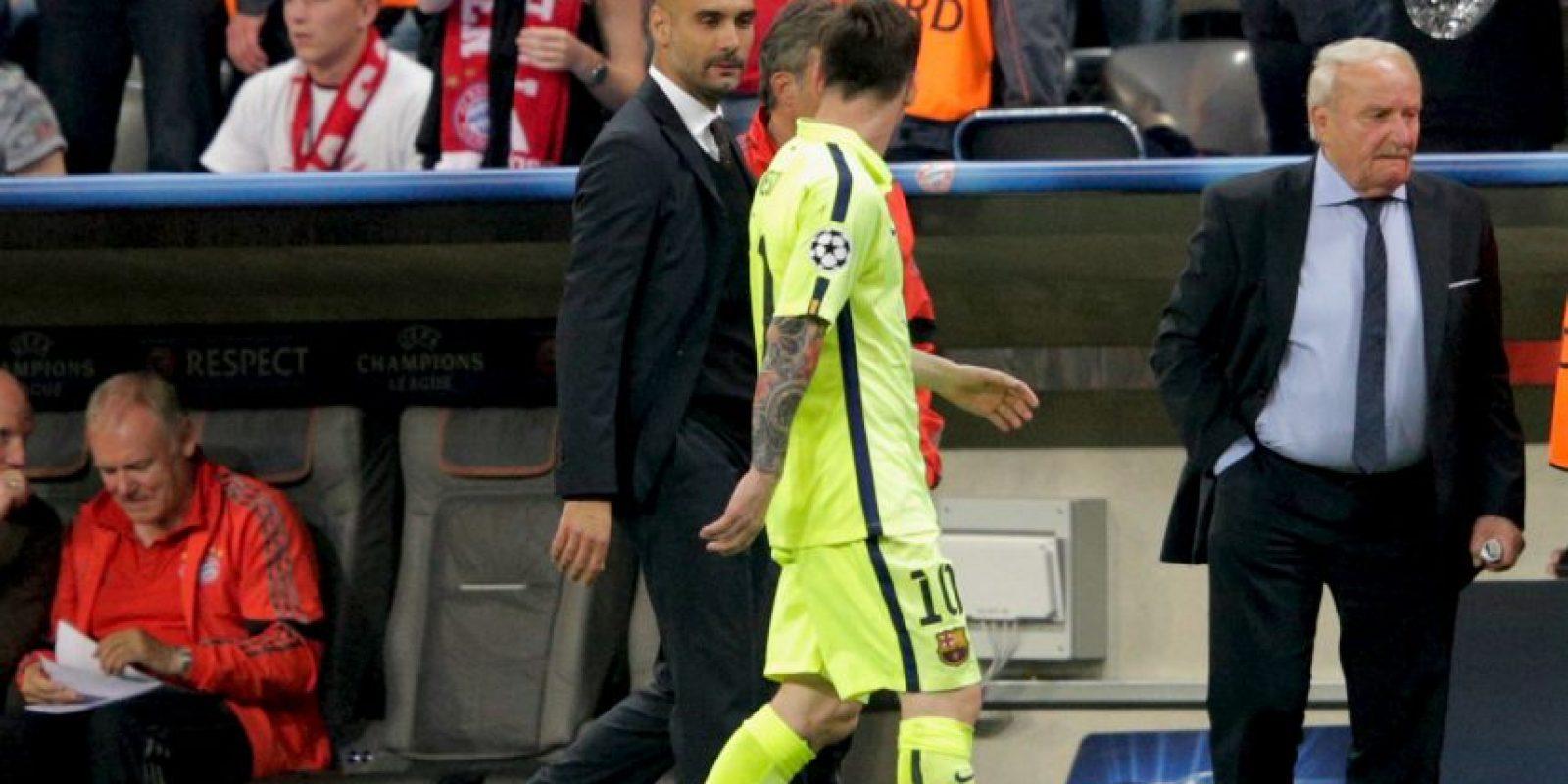 Con el club bávaro ha triunfado en la Liga de Alemania, pero ha quedado a deber a nivel internacional. Foto:Getty Images