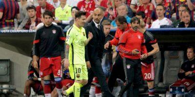 Este 2015 se enfrentó con el Barcelona en las semifinales de Champions League y fue derrotado. Foto:Getty Images
