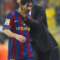 Guardiola comenzó su carrera como entrenador en el Barça B en 2007. Foto:Getty Images