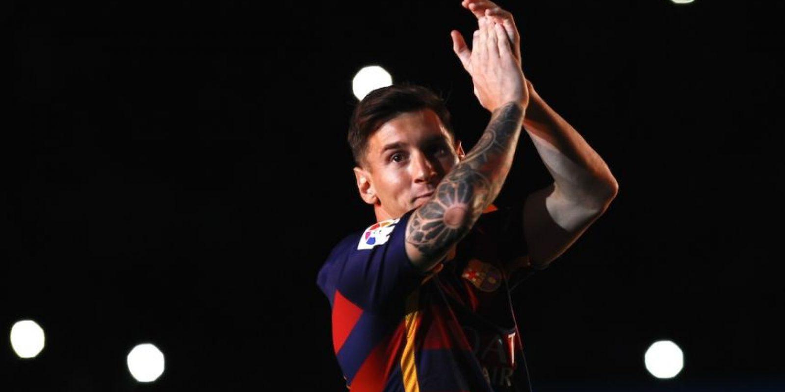 Durante estos partidos se reencontró con el futbolista que ganó todo con él en Barcelona: Lionel Messi. Foto:AFP