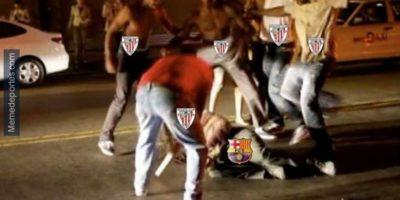 Internautas se burlan del Barcelona por su goleada en la Supercopa de España