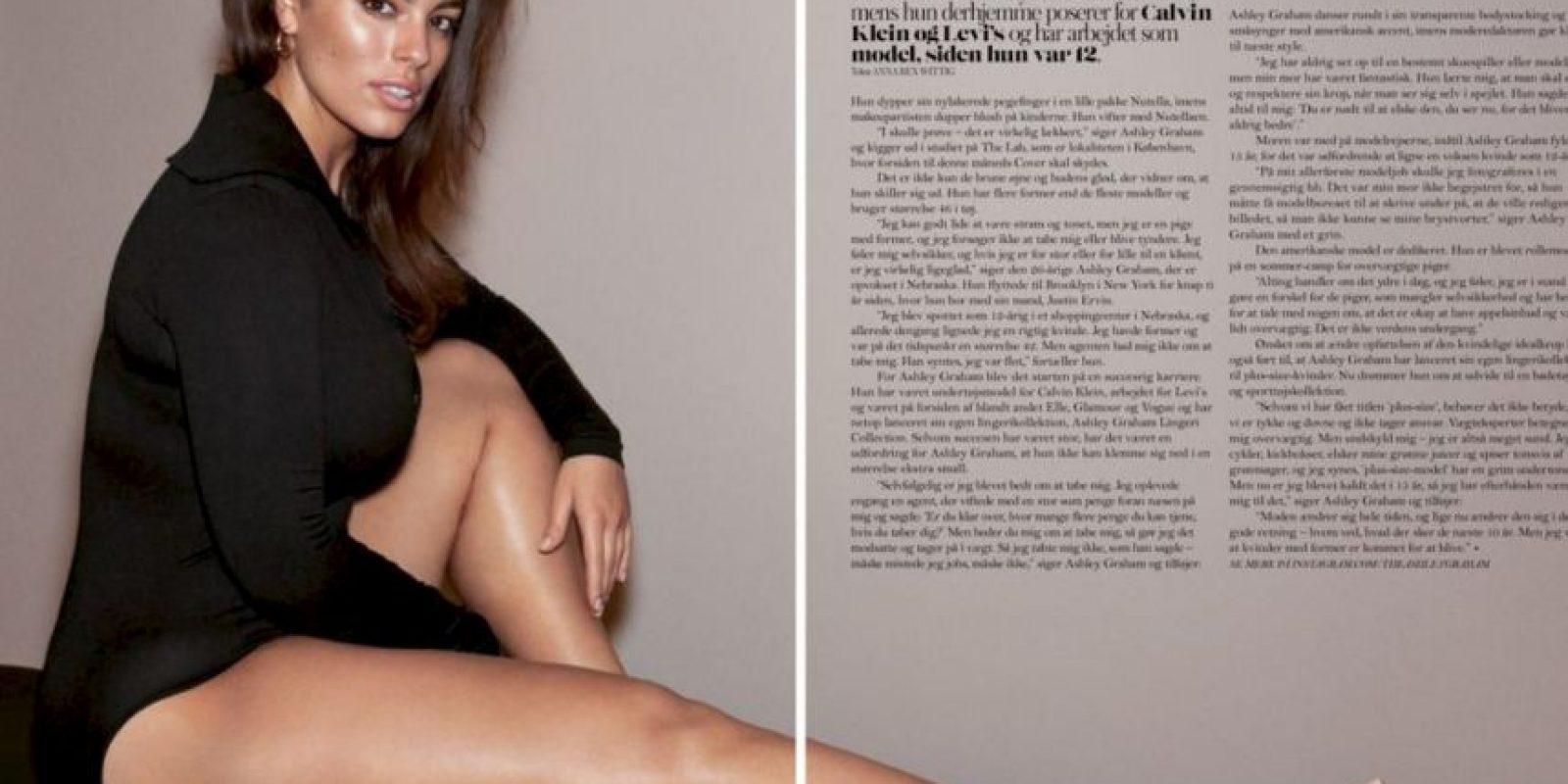 """Incluso salió en """"Sports Illustrated"""". Foto:vía Facebook/Ashley Graham"""