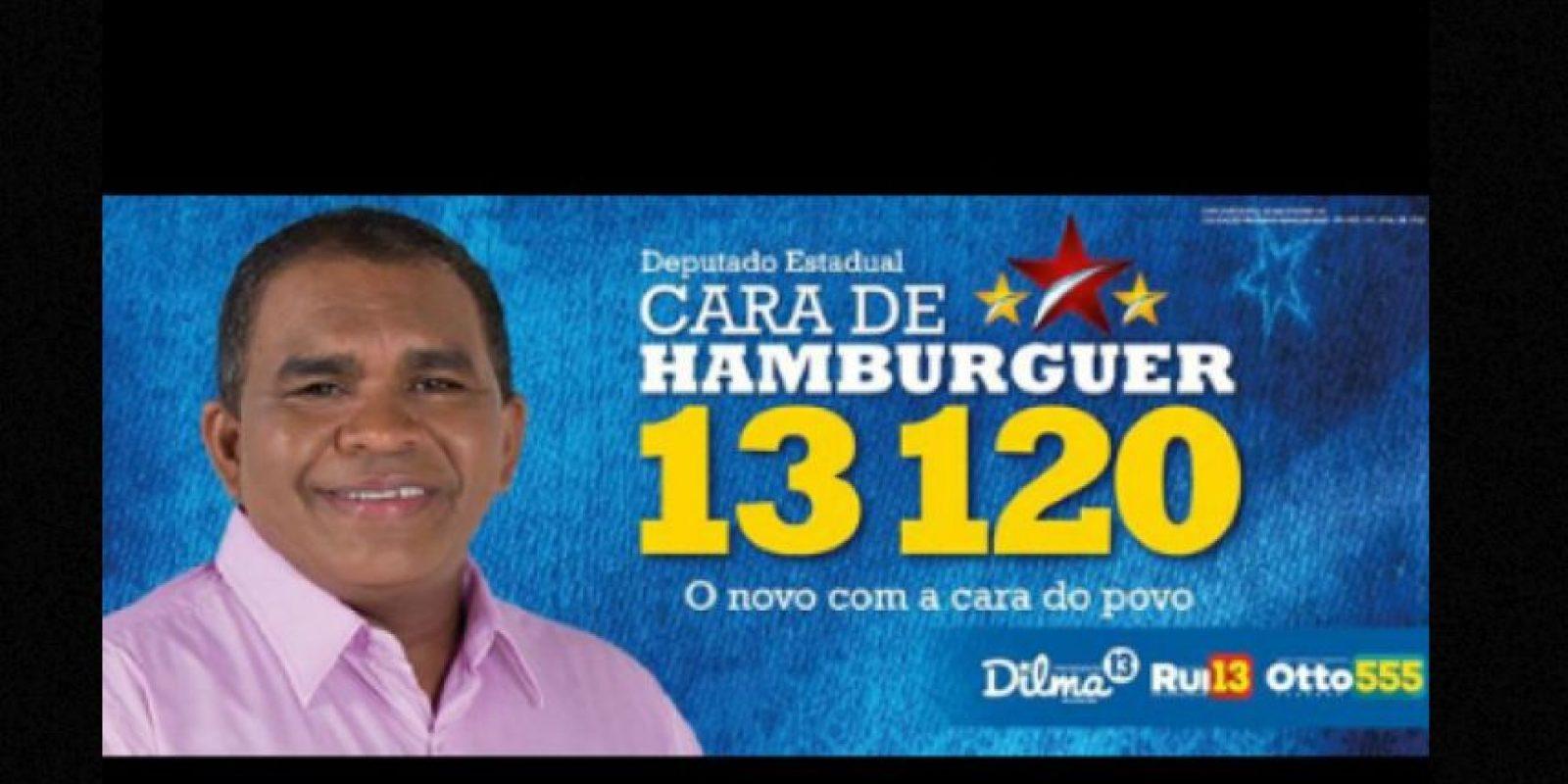 Cara de hamburguesa Foto:vía Naosalvo.com.br