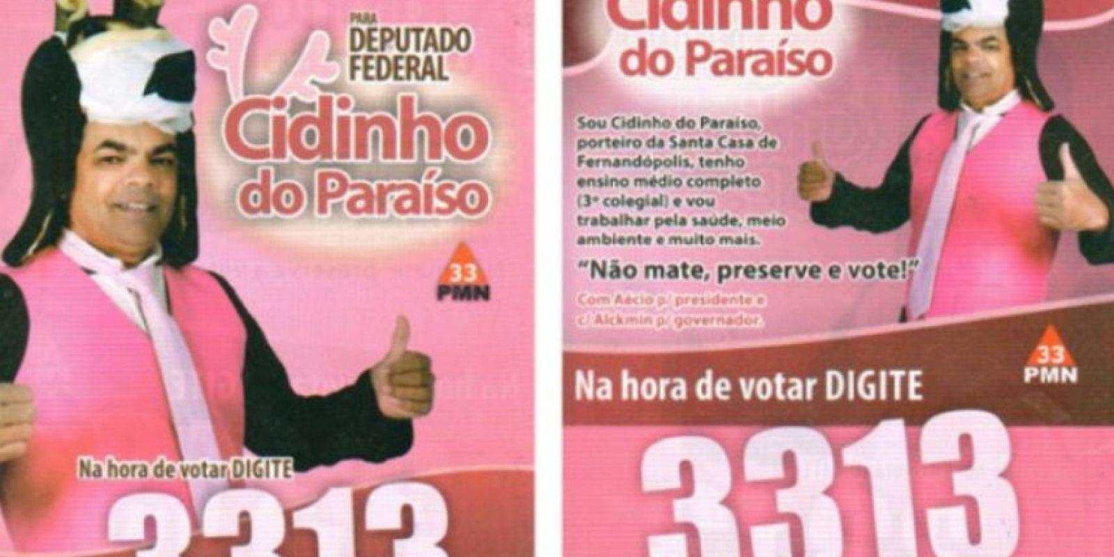Esta pobre criatura. Foto:vía Naosalvo.com.br